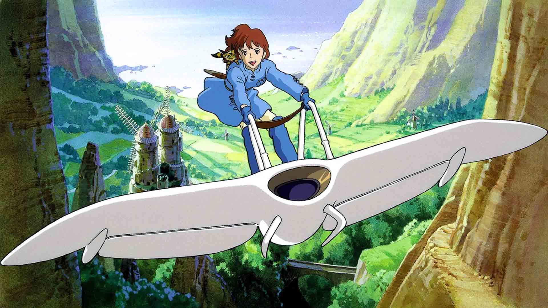 hayao miyazaki nausicaa ambiente