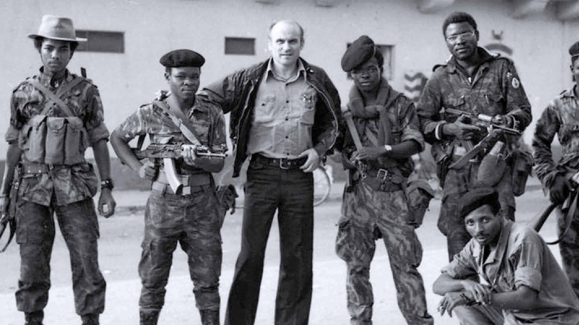 Ryszard Kapuscinski in Africa