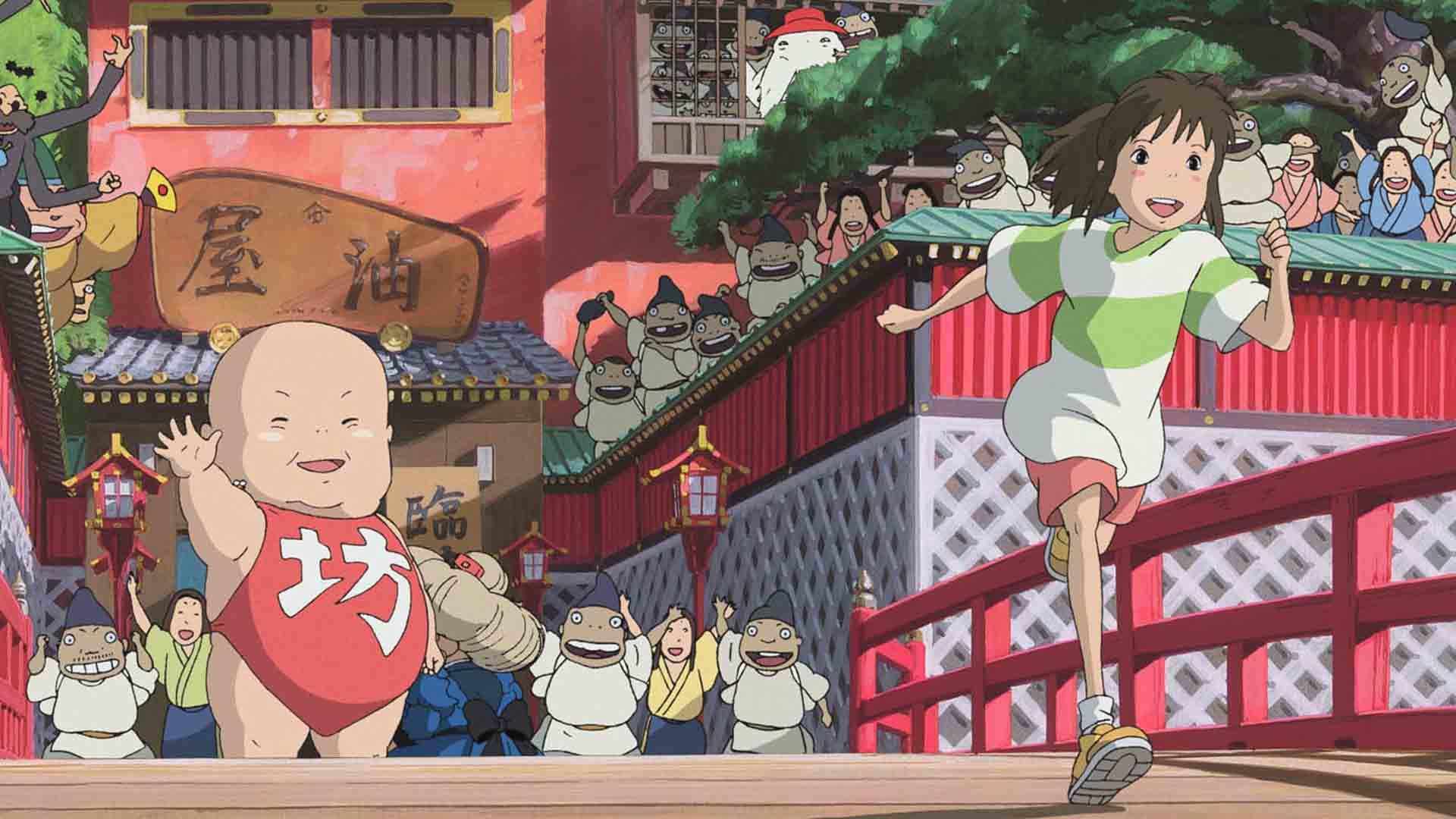 La città incantata di Hayao Miyazaki