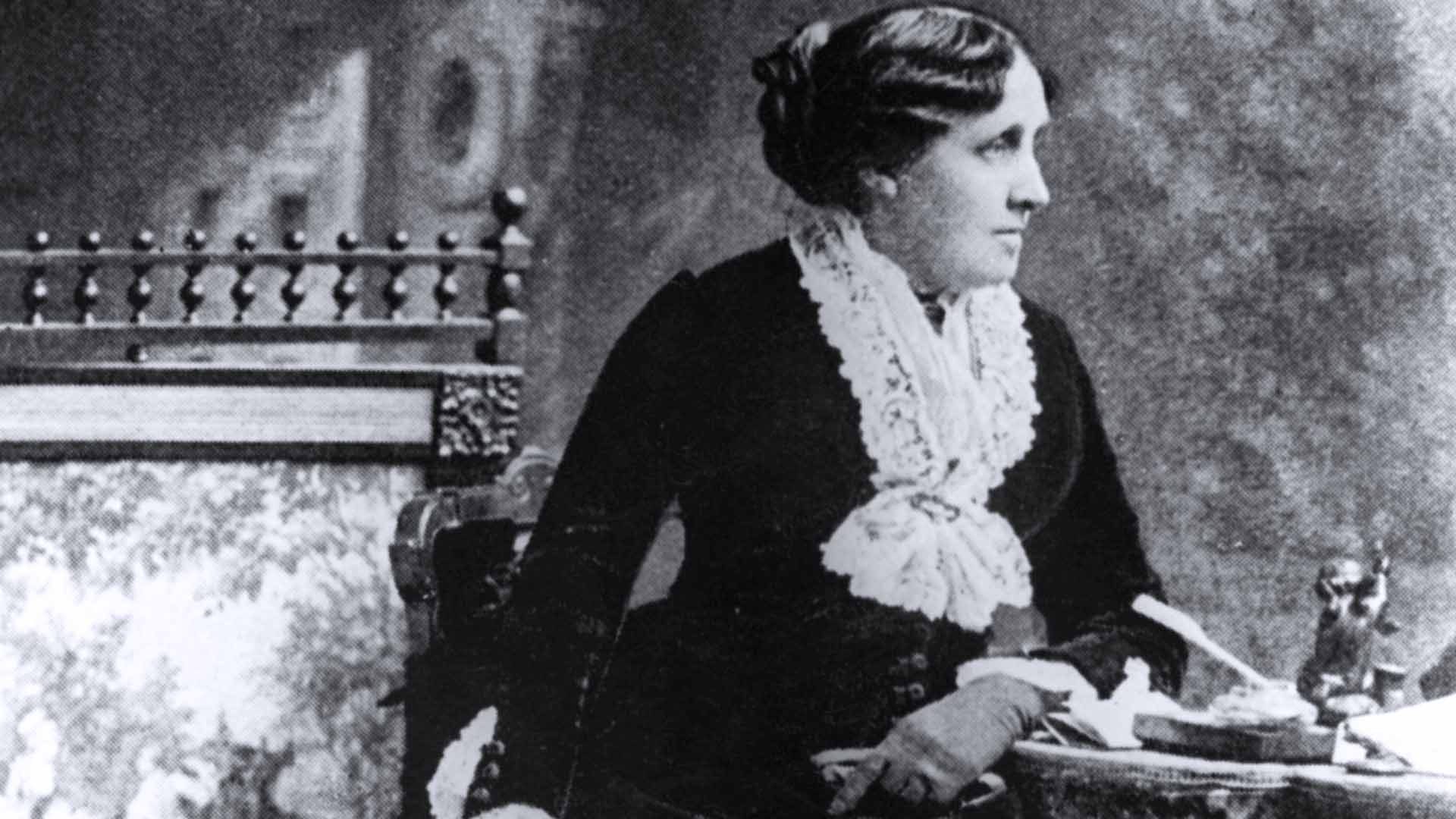 Louisa May Alcott autrice di Piccole donne