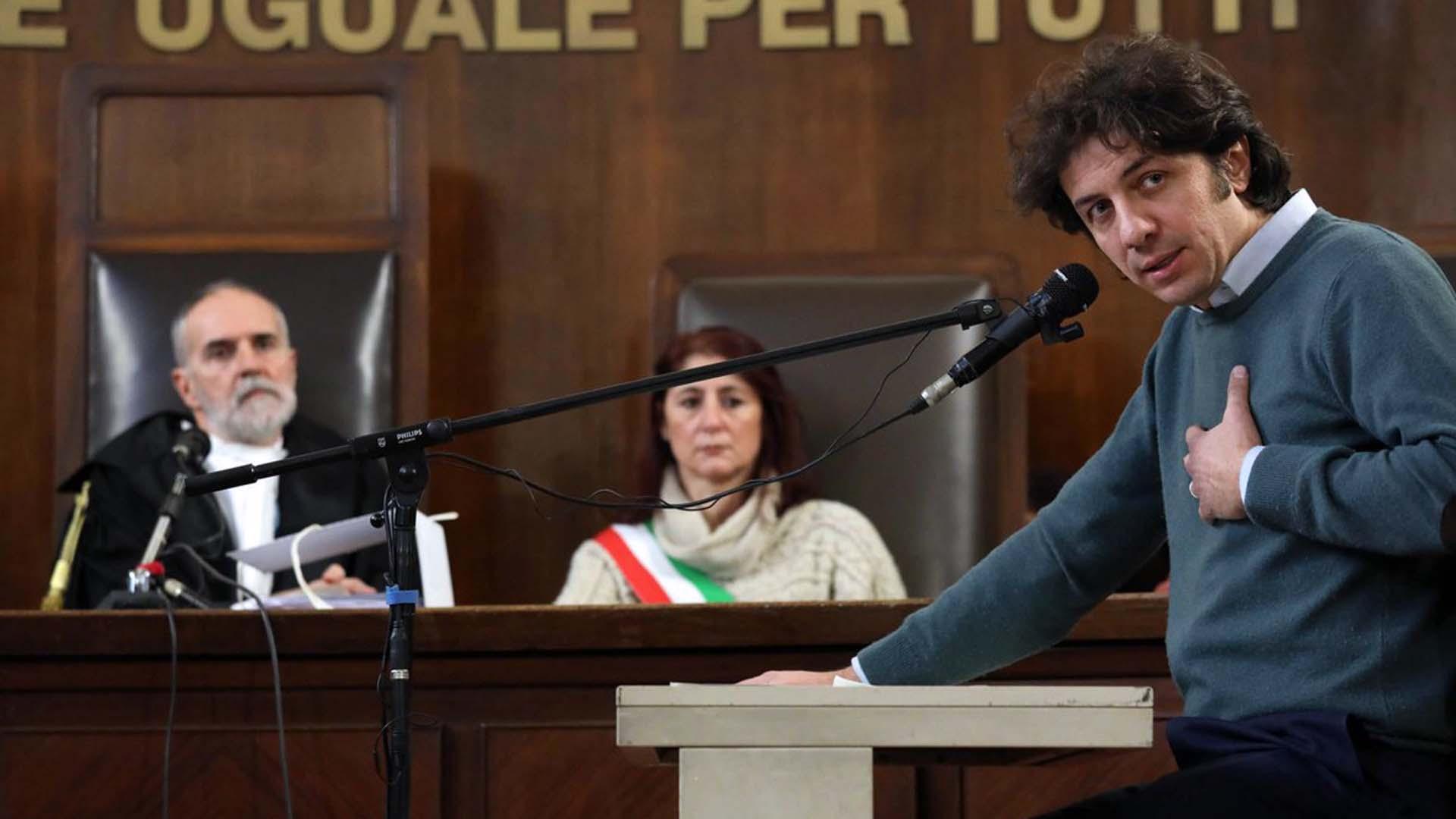 Marco Cappato al processo per il suicidio assistito di Dj Fabo