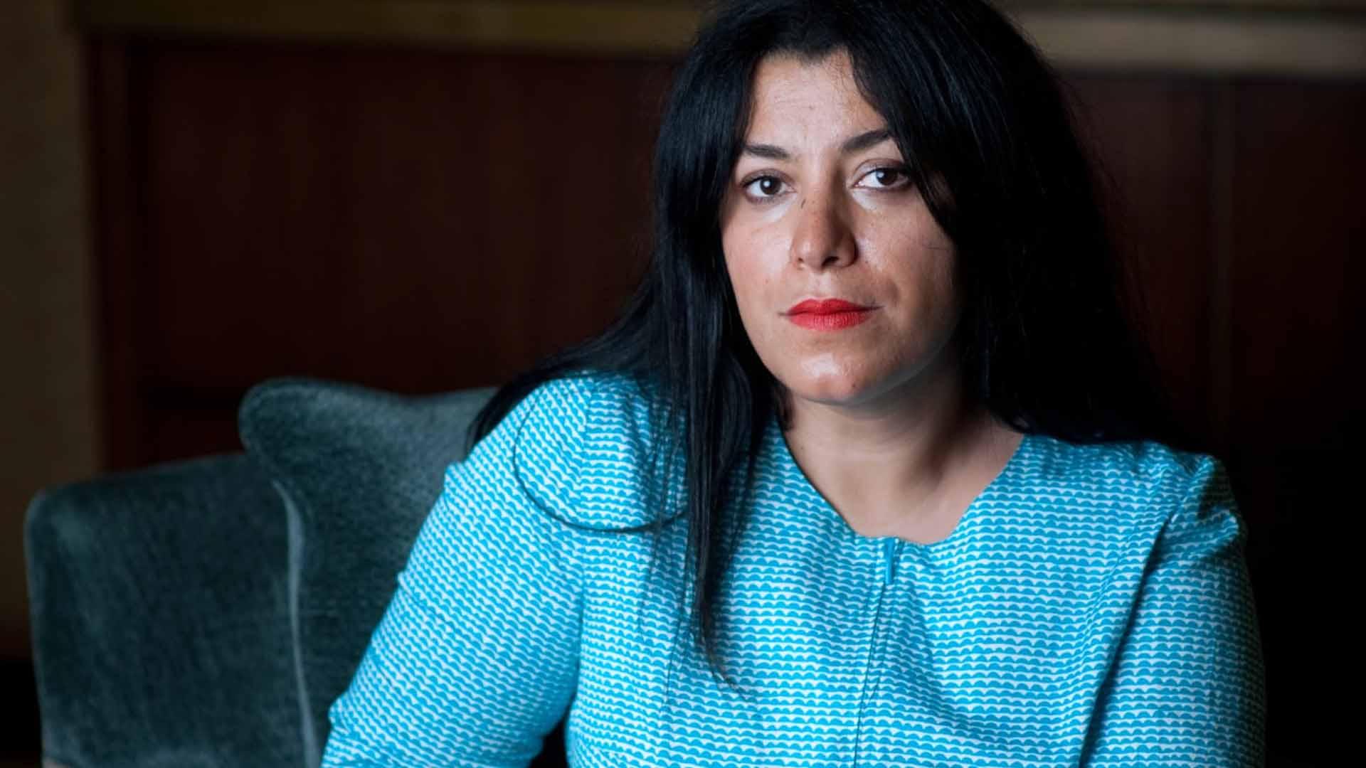 Marjane Satrapi autrice e regista di Persepolis