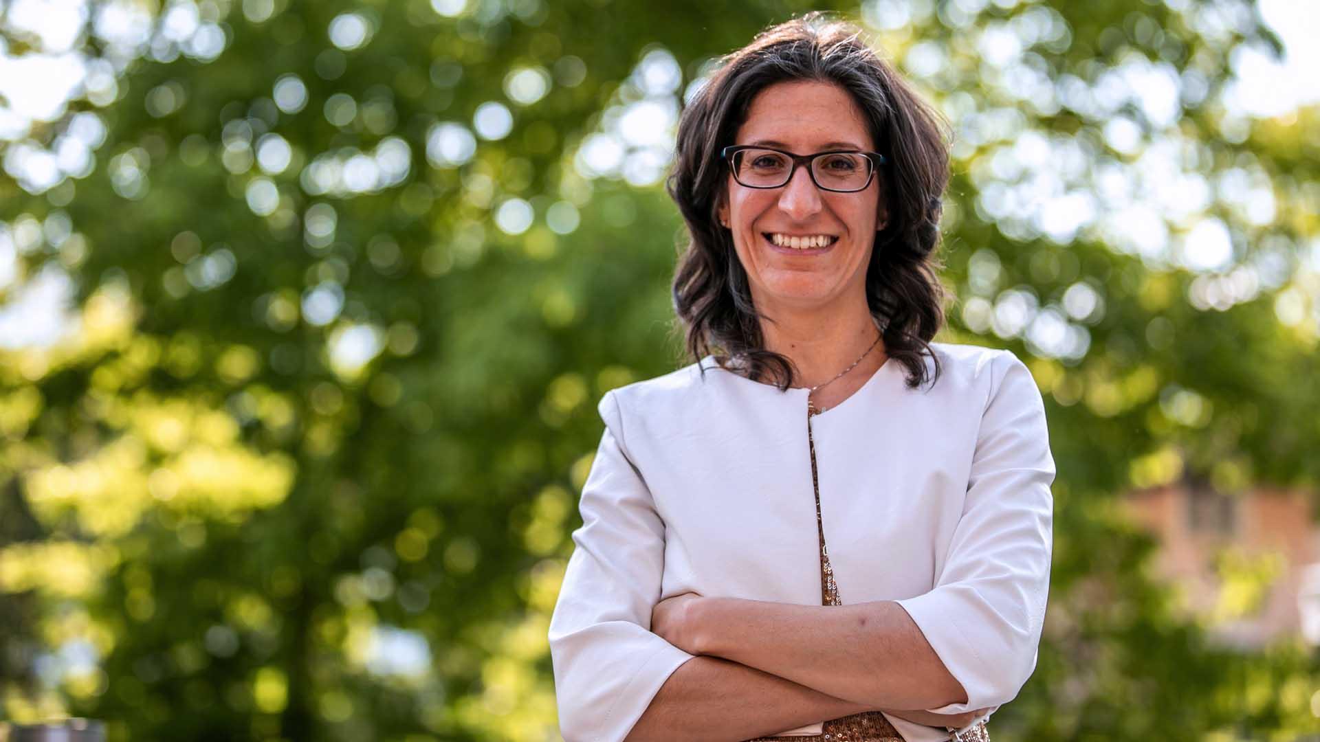 La matematica Ilaria Dorigatti
