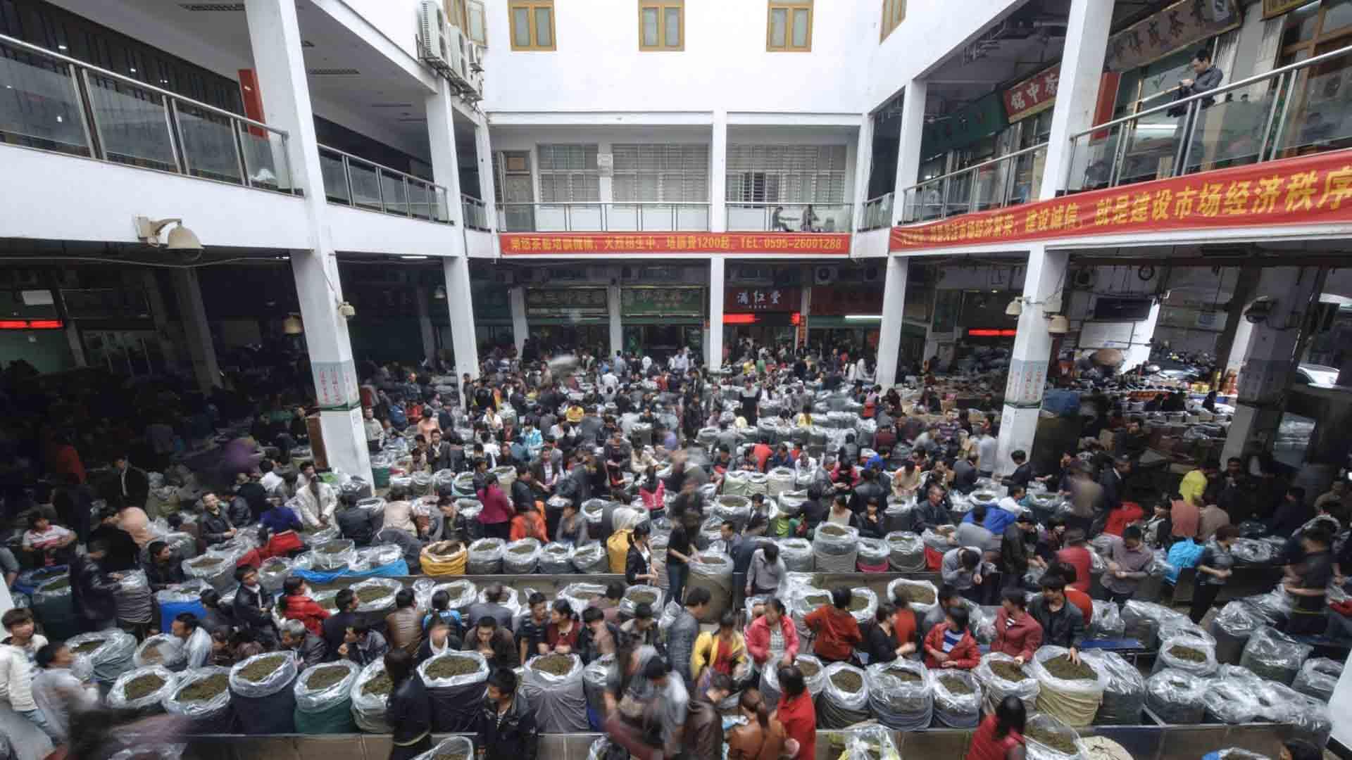 Il mercato d Wuhan in Cina è stato uno dei focolai del coronavirus