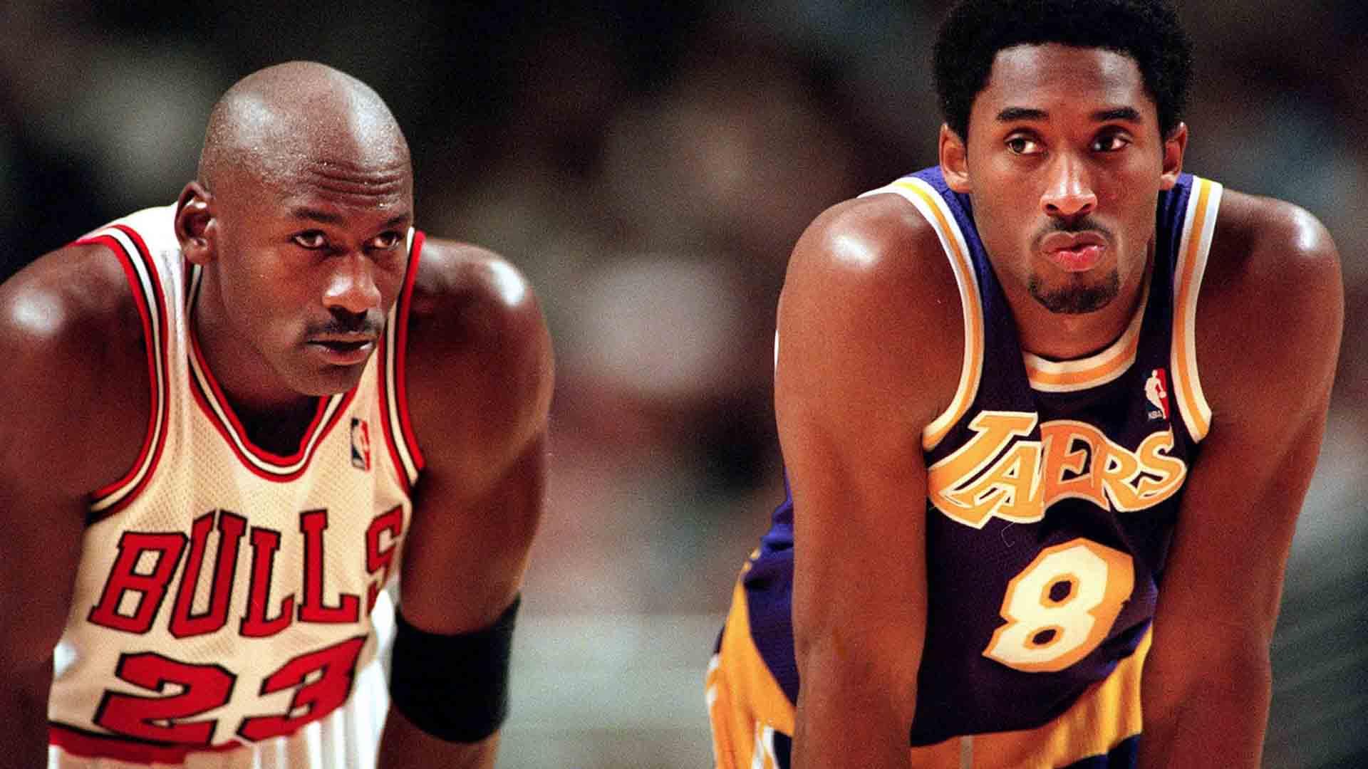 Michael Jordan e Kobe Bryant