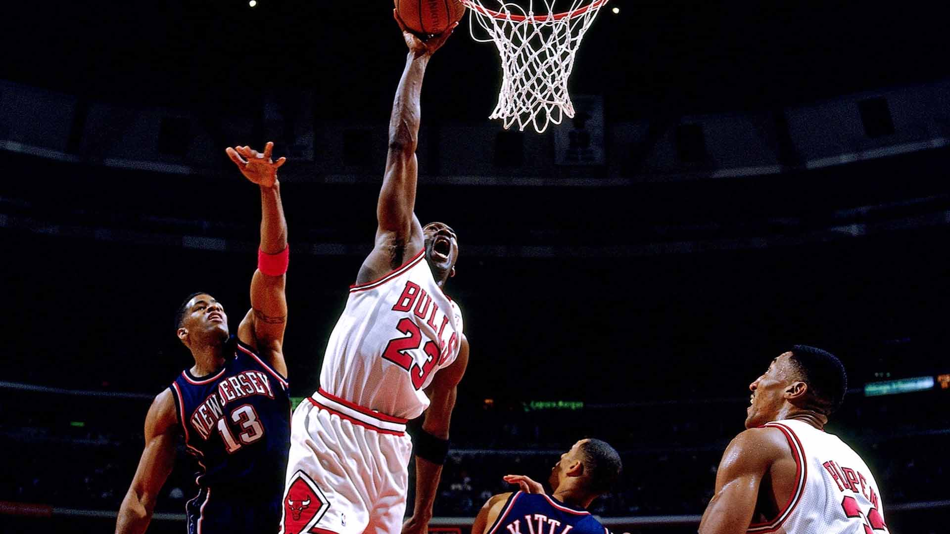 Michael Jordan e Scottie Pippen
