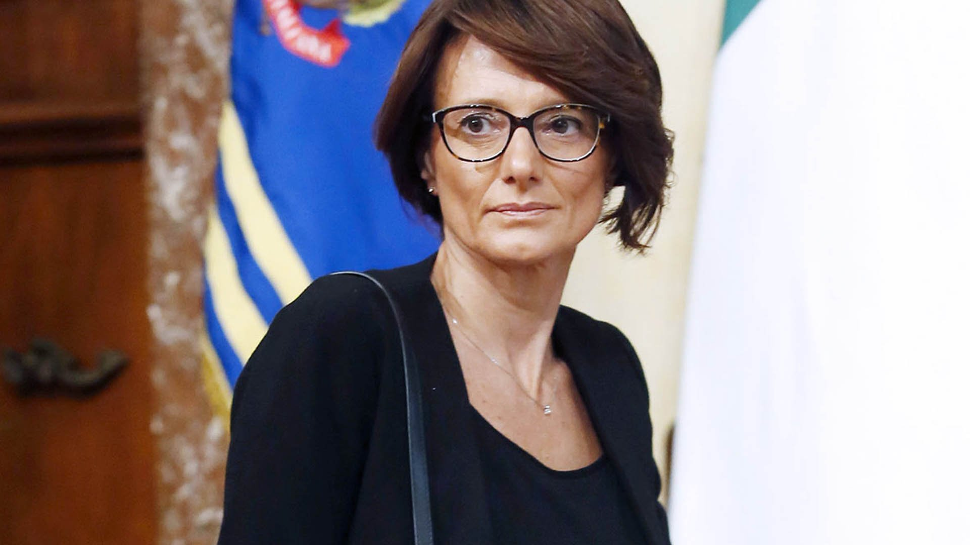 La ministra delle pari opportunità Elena Bonetti