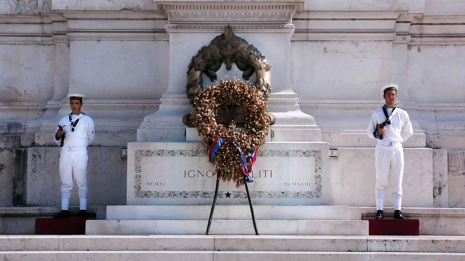 Monumento al Milite Ignoto a Roma