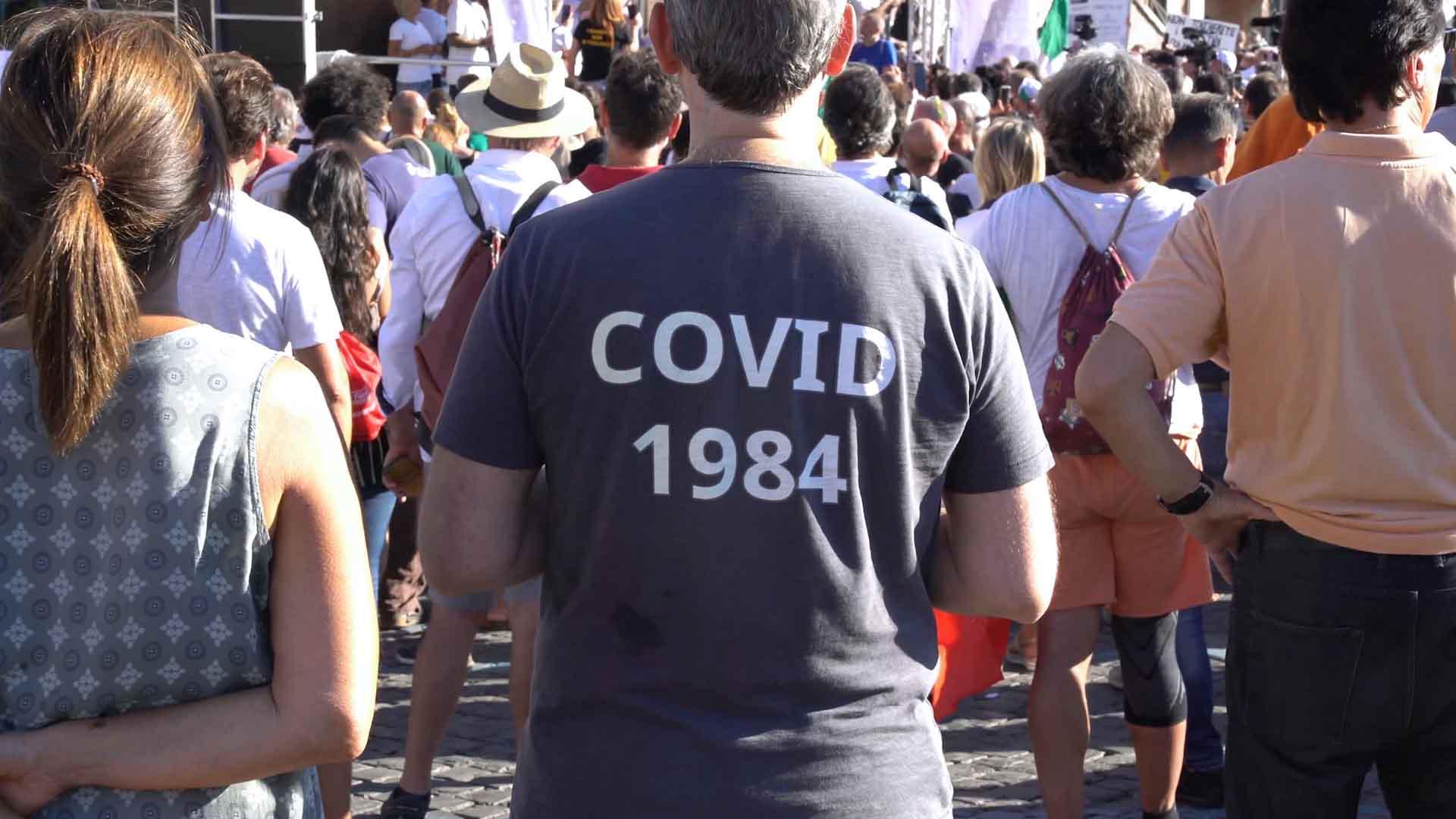 L'avanzata dei negazionisti del coronavirus nel mondo