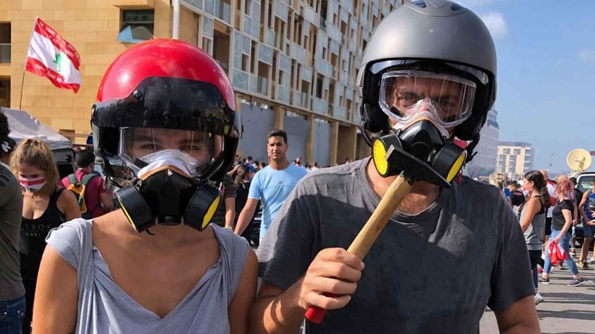 Abbiamo parlato con i giovani di Beirut che vogliono la rivoluzione