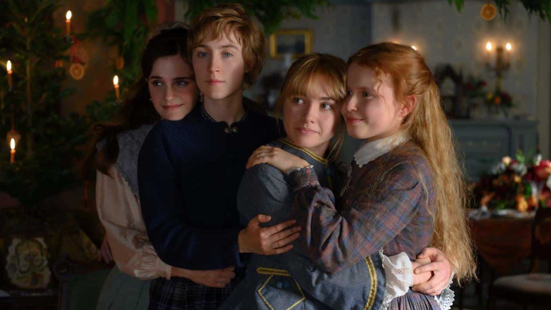 Piccole donne con Saoirse Ronan ed Emma Watson
