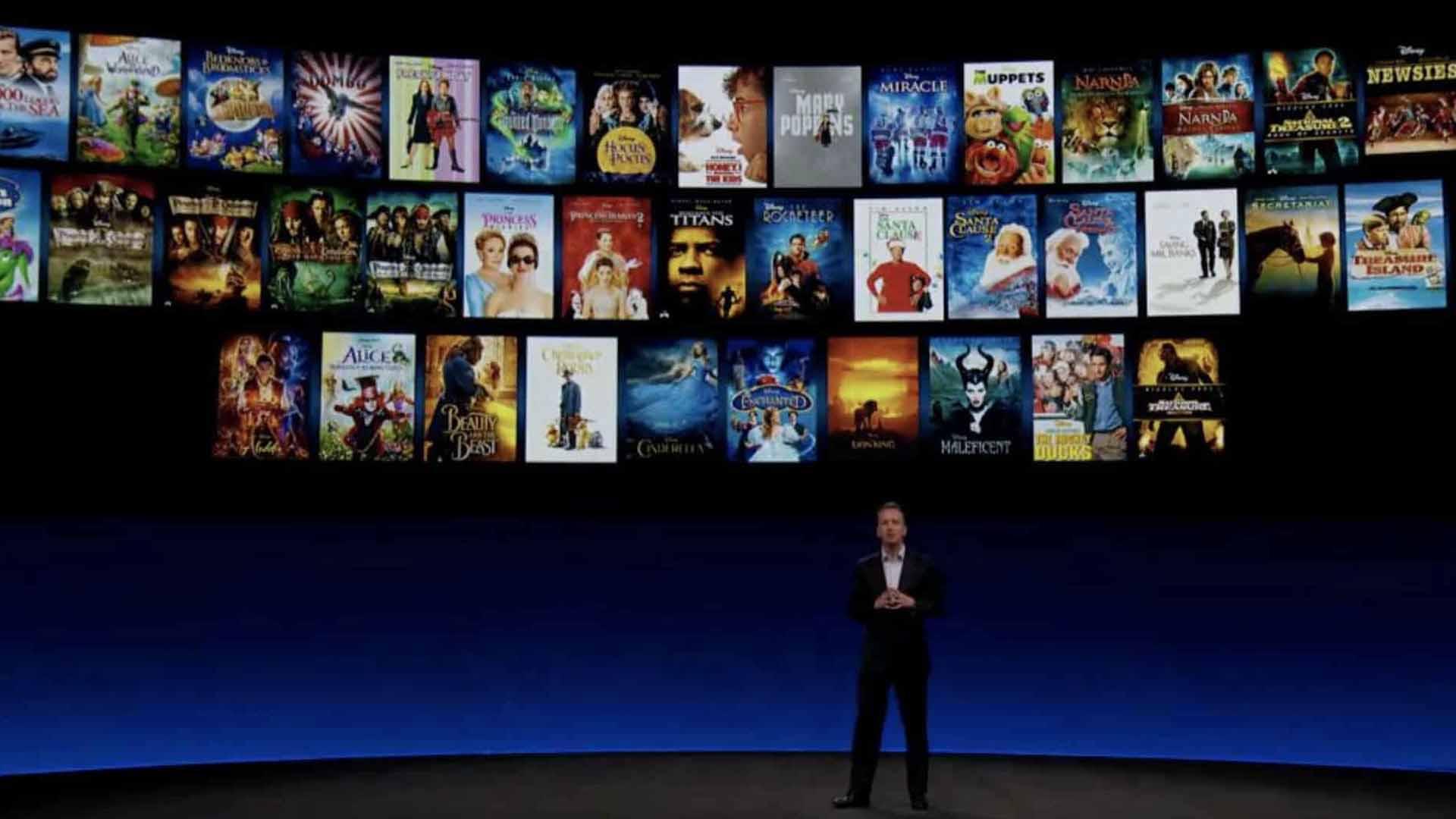 La presentazione i Disney+