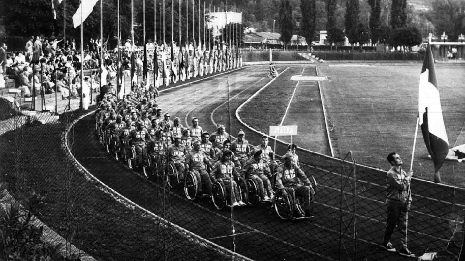 I primi giochi paralimpici a Roma nel 1960