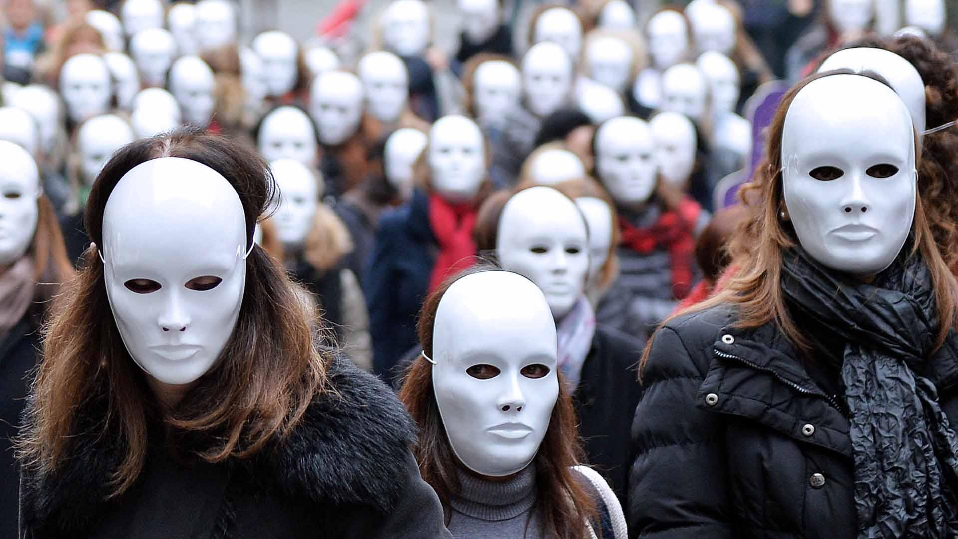 Proteste contro la violenza sulle donne