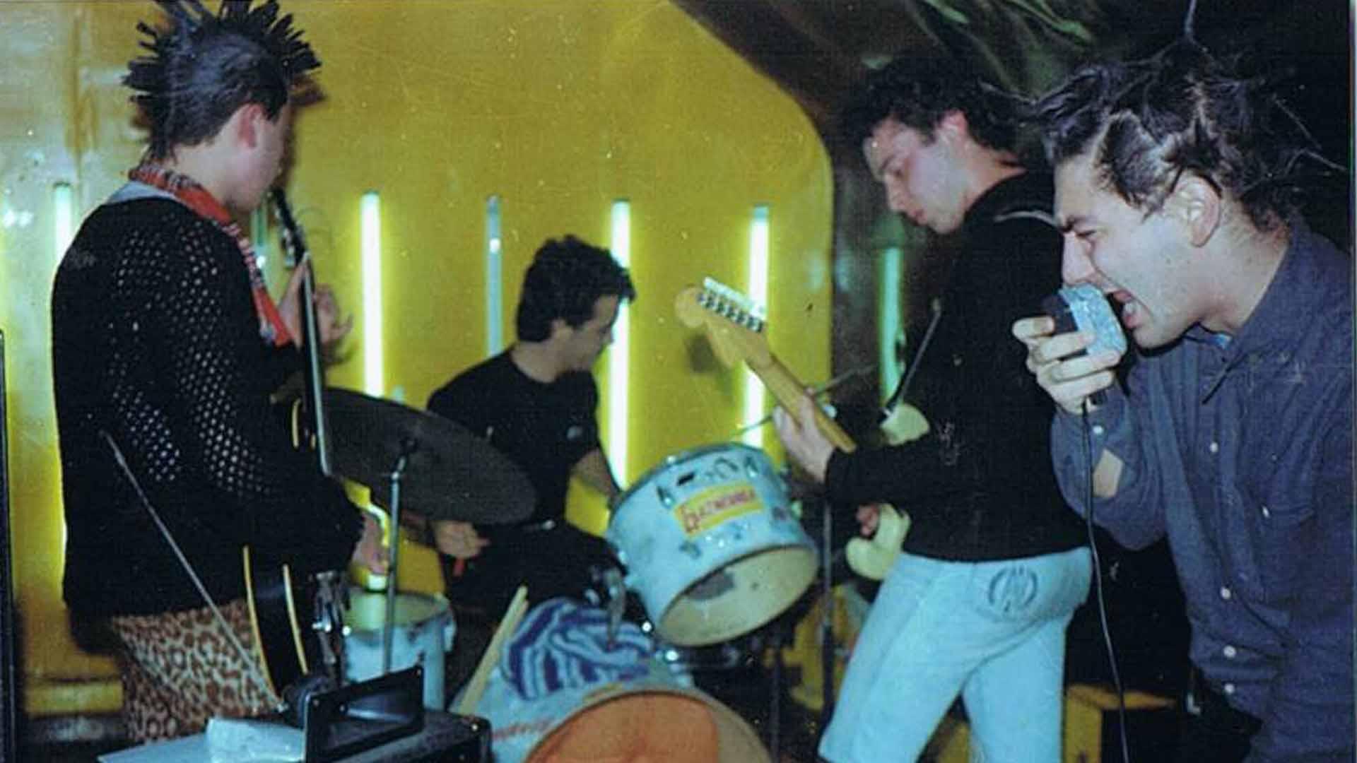 La punk band Underage