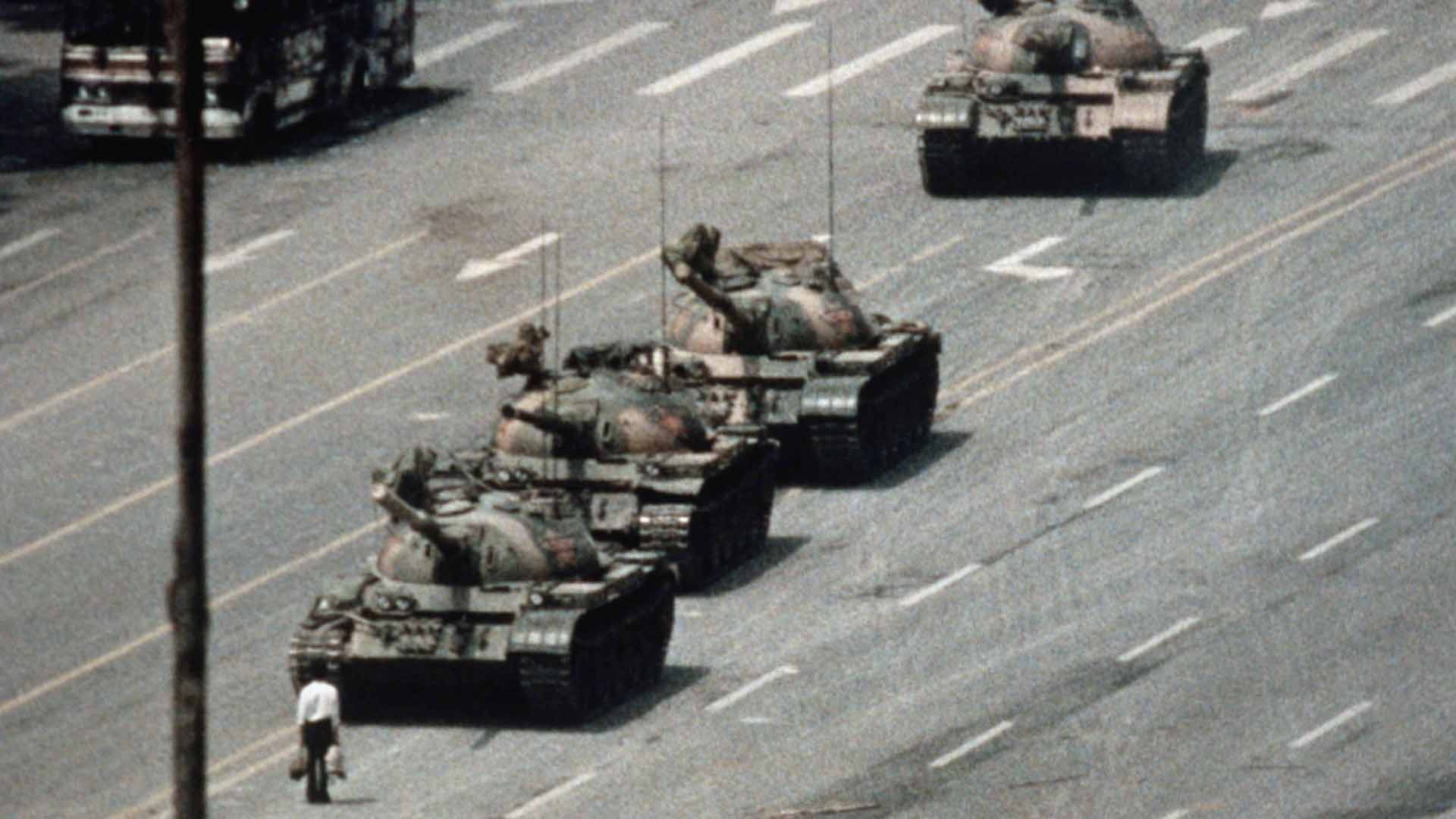 Il rivoltoso sconosciuto di Piazza Tienanmen