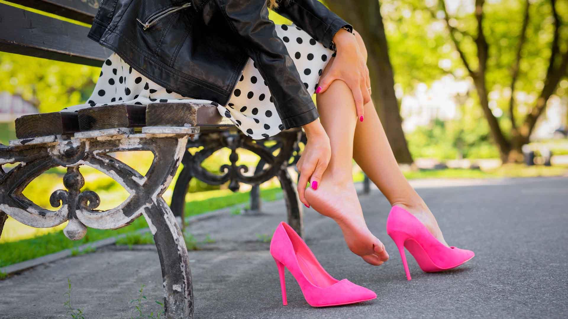 I tacchi sono dannosi per la salute delle donne