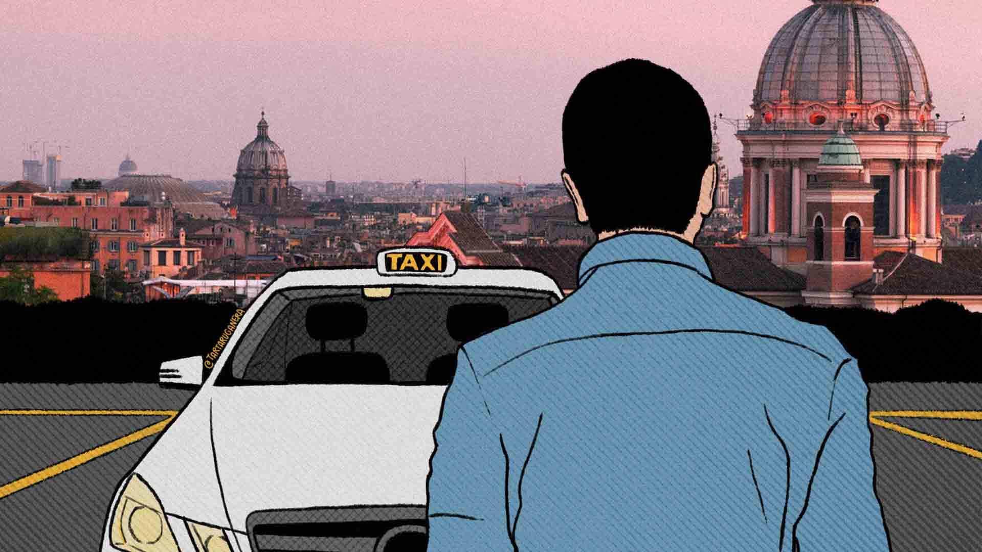 Sono un tassista e vi racconto la crisi del covid