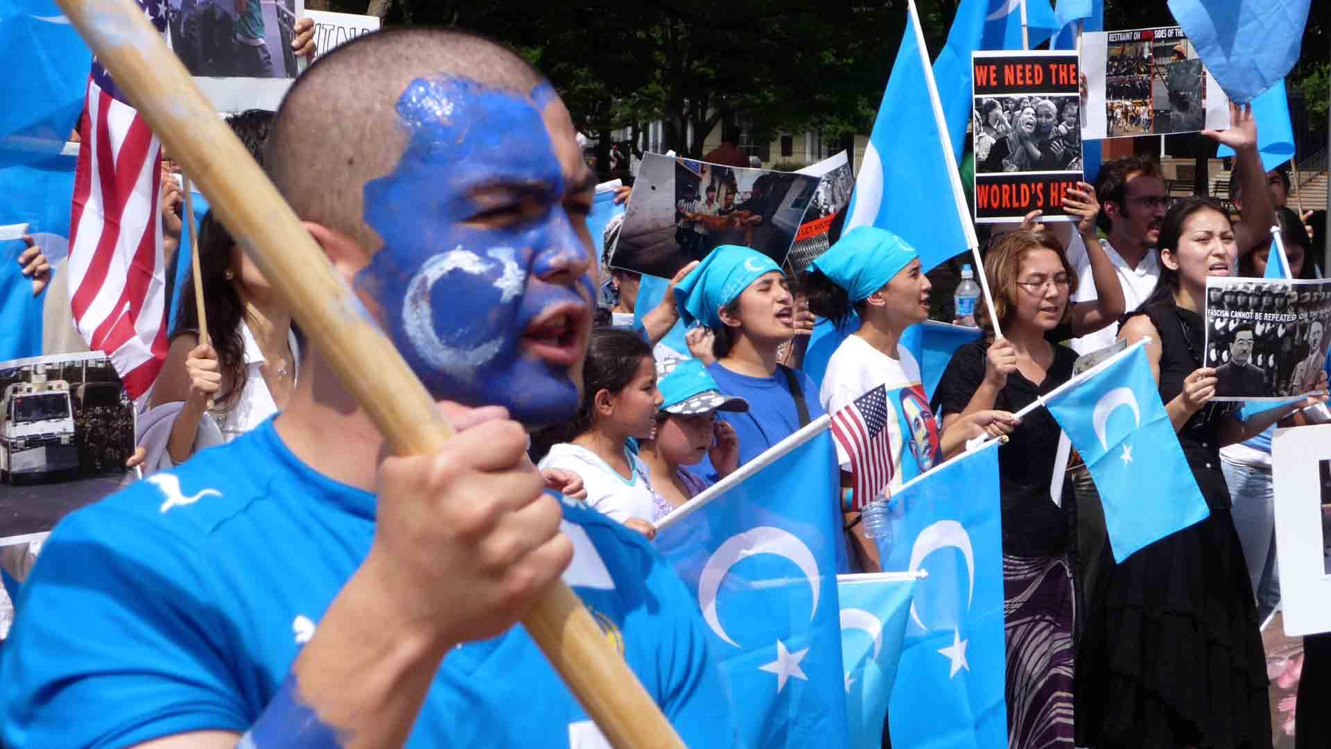 uiguri cina