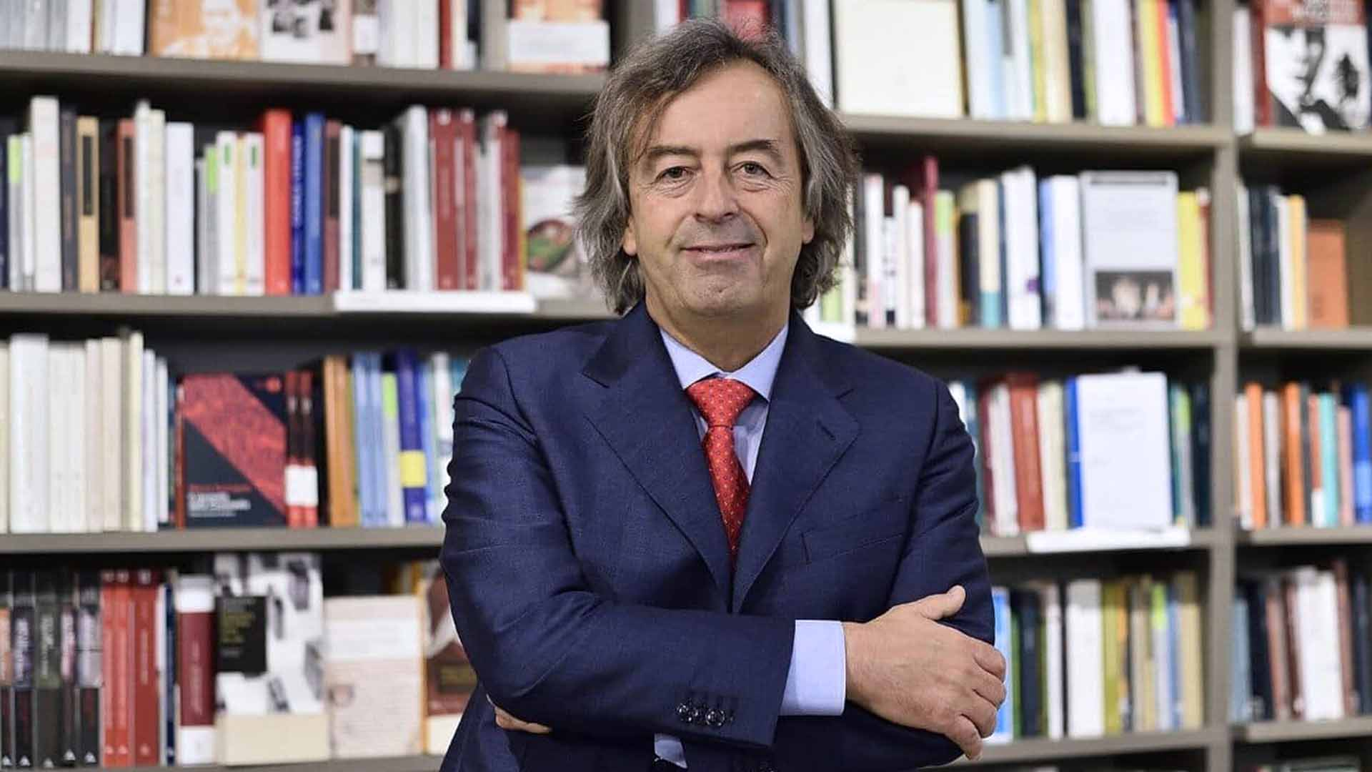 Il professor Roberto Burioni