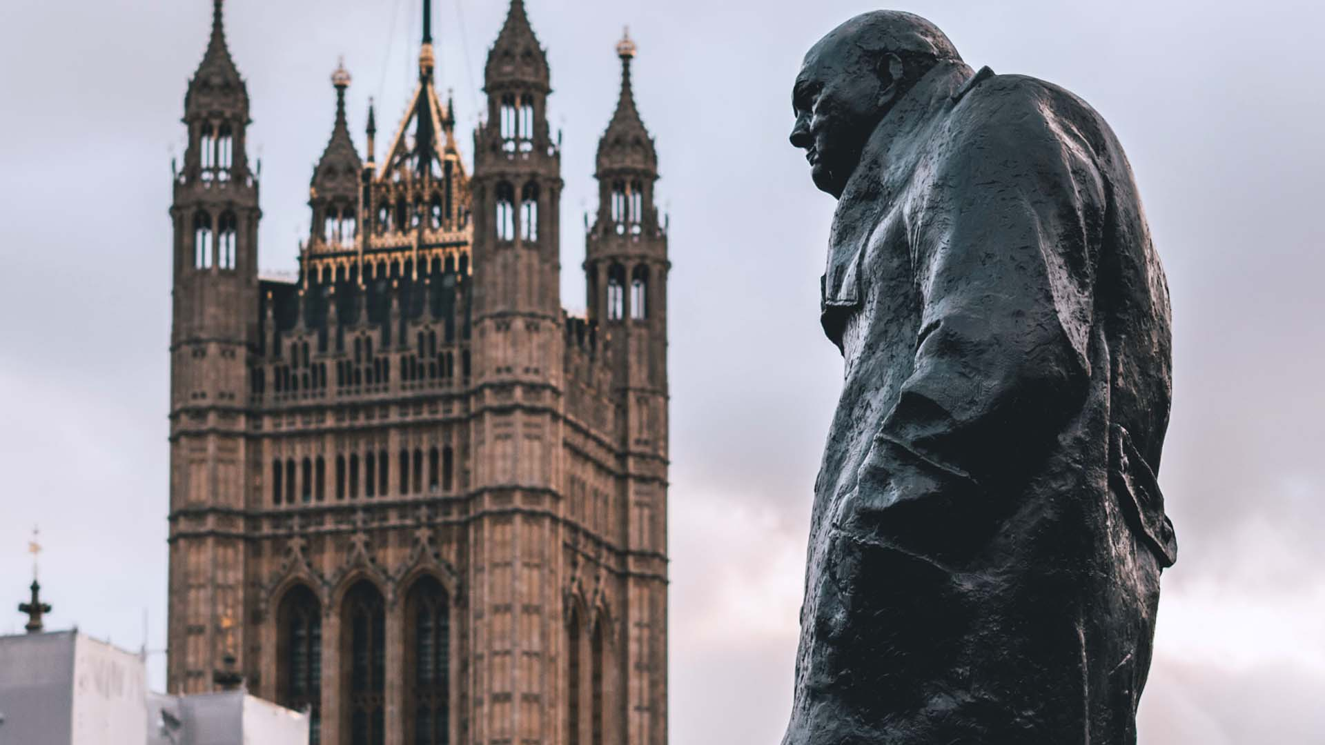winston churchill statua black lives matter