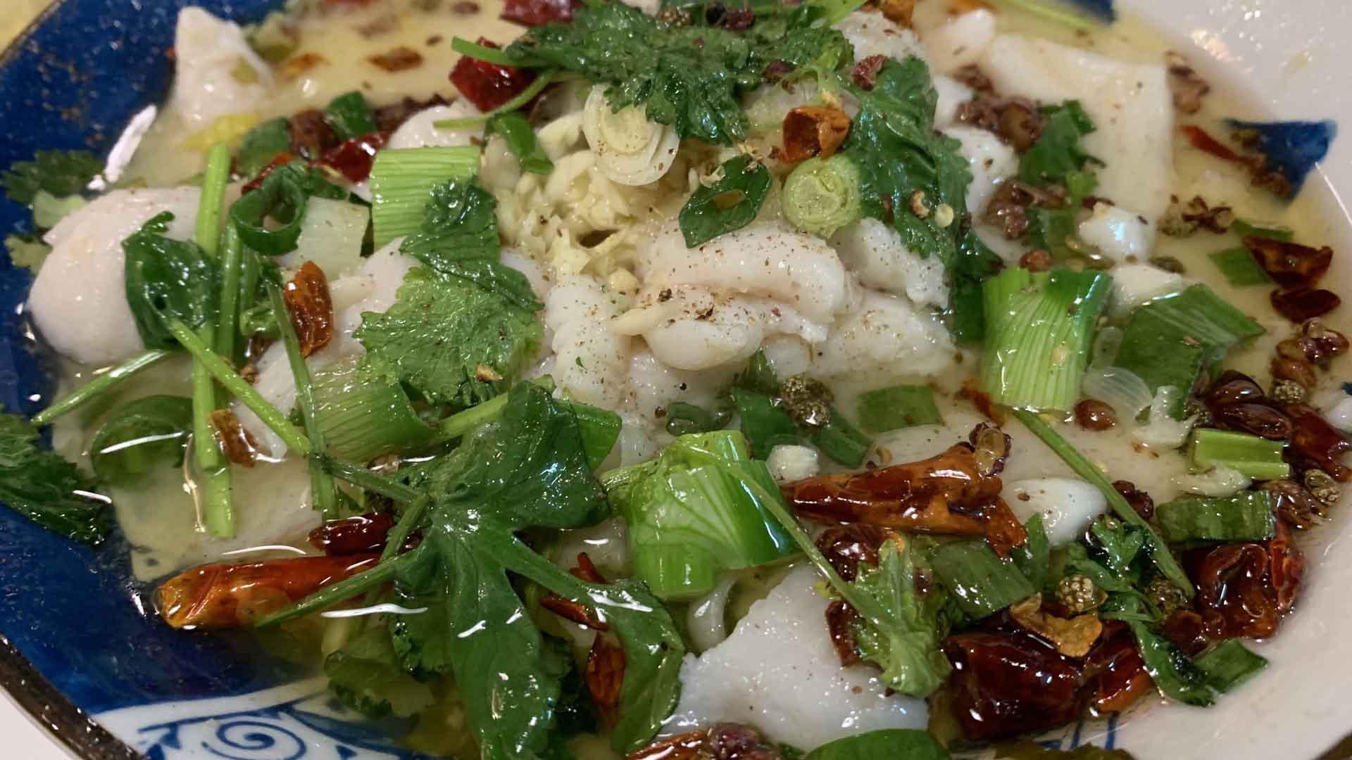 La zuppa di pesce del Sichuan